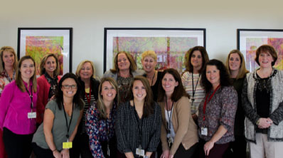 The Human Resources team at South Shore Health System